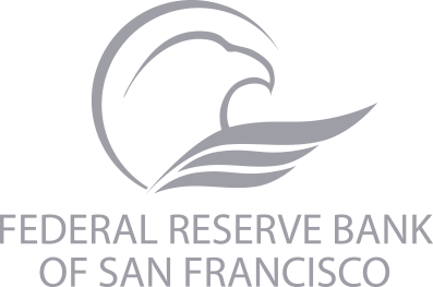 Eagle graphic with text 'Federal Reserve Bank of San Francisco